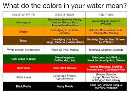 Foot Detox Machine Color Chart Ionic Foot Bath Detox Treatment Euro Charm Clinic In Vancouver