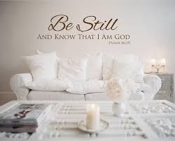 be still wall decals