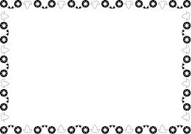 夏の花の飾り枠14 アサガオ 花の無料イラスト素材 イラストポップ