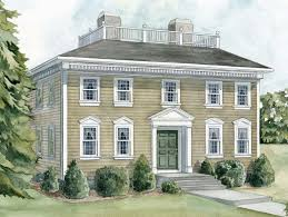 Georgian style homes pictures