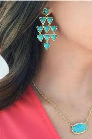 kendra scott vale chandelier earrings front full image