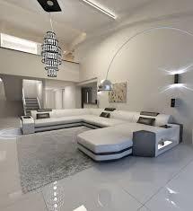 Big Sectional Leather Sofa Dallas Xl Shape Led Lights European Style