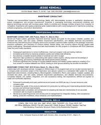 Best Information Security Consultant Resume Sample Contemporary