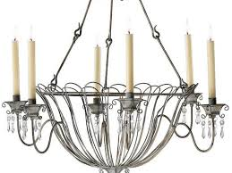 wrought iron candle chandelier non electric non electric candle chandelier lighting home design ideas