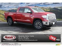 2014 Toyota Tundra Limited Double Cab 4x4 in Barcelona Red ...