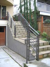 Metal handrails for stairs Diy Exterior Stair Handrails Exterior Metal Handrails For Stairs Handrails For Steps Height Of Handrail Railings Exterior Sunset Metal Fab Inc Exterior Stair Handrails Exterior Metal Handrails For Stairs