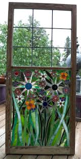 stained glass mosaic windows best mosaic windows images on mosaic windows glass mosaic flowers on old