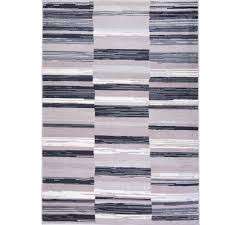 home dynamix bazaar city stripes gray  ft  in x  ft  in