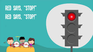 Twinkle Twinkle Traffic Light Song Lyrics Red Says Stop Kids Song Traffic Safety Nursery Rhymes Lyrics Lights