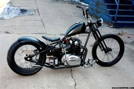 ardcore choppers blacked out yamaha xs650 chopper