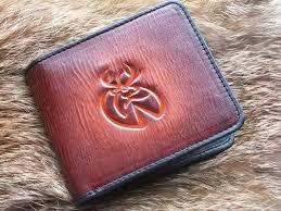 wild deer men s leather wallet