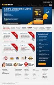 Psd Website Templates Free High Quality Designs Free High Quality Psd Modern Hosting Website Template