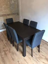 adeline argos dining table and 6 chairs