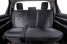 wet seat premium neoprene seat covers toyota hilux sr sr5 9 2016 on dual cab black