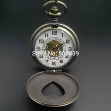 high quality nice watch brands for men promotion shop for high bronze tone heart shape case design hand wind mechanical pocket watch w chain brand new nice gift hot item machinery watch