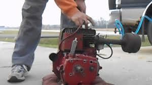 TECUMSEH H70 PTO ENGINE - YouTube