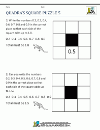 Excel : Free Math Puzzles Magic Square Gif Pixels Grade Help For ...