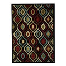 red and brown area rugs latitude run modern contemporary red ivory brown area rug red brown red and brown area rugs