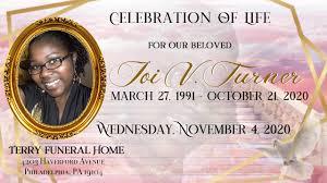 In Memory of Joi V. Turner - Posts   Facebook