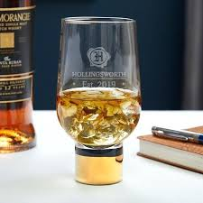 personalized whisky glass wax seal personalized whiskey glass with gold stem personalized whiskey glasses canada