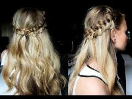 Bohemian Hairstyles 72 Best Hairstyle 24 ♡ Romantic Bohemian Braid Hairstyle YouTube