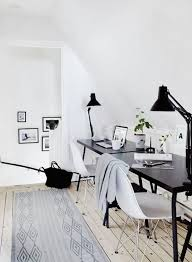 home officeminimalist white small home office. 37 Stylish Super Minimalist Home Office Designs Digsdigs Table Officeminimalist White Small