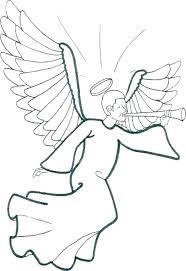 Guardian Angel Coloring Page Psubarstoolcom