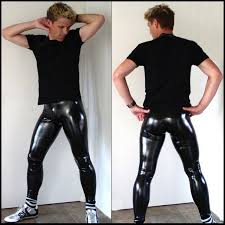 skin tight leather pants