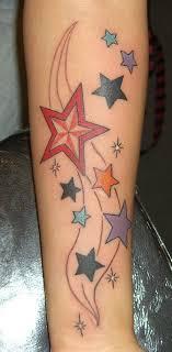 Tetování Hvězdičky Fotogalerie Motivy Tetování
