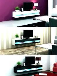 entertainment wall shelf floating shelf with lighting led lights shelf shelves with lights tv wall mount