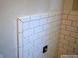 tile edging mitered joint w subway master bath renovation ceramic tile edging tile edging outside corners