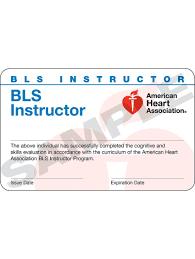 aha bls instructor card 24 pack