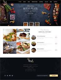 Restaurant Website Templates Impressive 48 Catering Services Website Themes Templates Free Premium