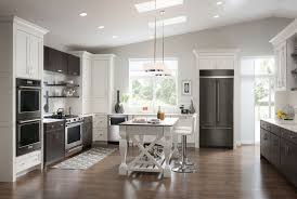 kitchen design white cabinets stainless appliances. KitchenAid Black Stainless Steel Appliances In A Modern Kitchen. I Would Love To Be The New Kid On Since We Just Moved GA From MA With These Kitchen Design White Cabinets B