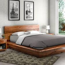 san francisco solid wood platform bedroom rustic with king size