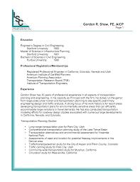 Civil Engineering Resume Templates Civil Engineer Resume