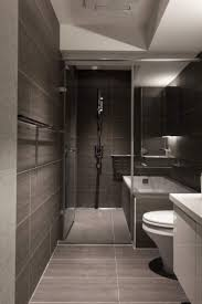 Bathroom , Modern Small Bathroom kids bathroom Design Ideas : Modern Small  Bathroom Design With Slate Tiles And Walk In Shower And Tub