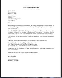 Cover Letter Sample For Job Application Fresh Graduate Collection Of