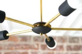 sputnik chandelier black sputnik chandelier gold black lights geometric fixtures ceiling fixture brass modern black sputnik