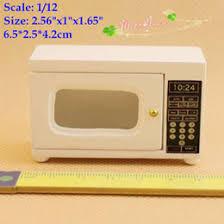 dollhouse kitchen furniture. 1 12 miniatures microwave wood white for dollhouses doll house kitchen accessory dollhouse furniture