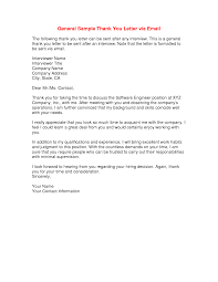 Thank You Letter For Job Interview Via Email Milviamaglione Com