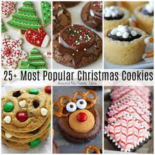 'tis the season for festive christmas desserts. Most Popular Christmas Cookie Recipes Cookies Recipes Christmas Cookie Recipes Holiday Desserts Christmas