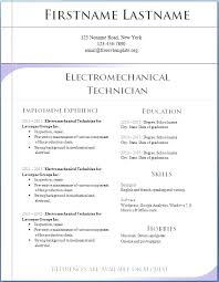 Resume Templates Word Download Stunning Free Download Resume Templates For Microsoft Word Resume Templates
