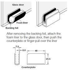 magnetic pressure touch catch with