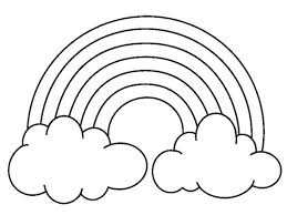 Small Picture preschool coloring pages rainbow free printable rainbow coloring