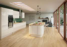 high gloss kitchen units wood worktop price from a  studio cream price from a