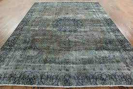 interior unique 9x11 area rug rugs new handmade hand knotted blue fl oriental wool from