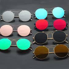 Korean trend V brand sunglasses reflective sunglasses <b>tide men</b> and