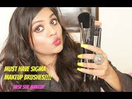 must have sigma makeup brushes india tips to sigma brushes wiseshe makeup