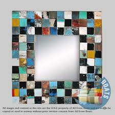 to order wall decor mosaic mirror